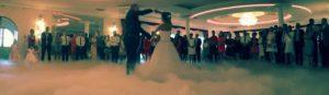 Taniec w chmurach - ciężki dym