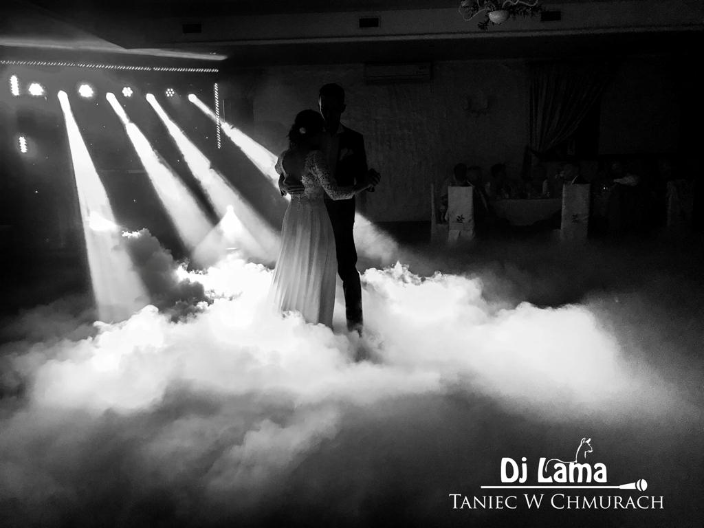 Taniec w chmurach, ciężki dym na pierwszy taniec, film