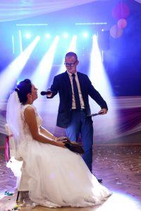 Gosia i Sławem wesele bogacica sala wiejska kluczbork, nad stawem bogacica dj na wesele dj lama kluczbork38