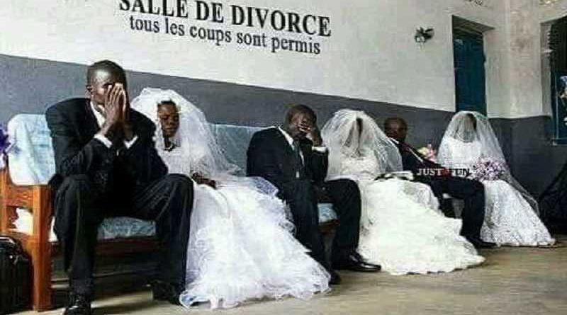 Rozwód - tak, ale w sukni ślubnej i garniturze