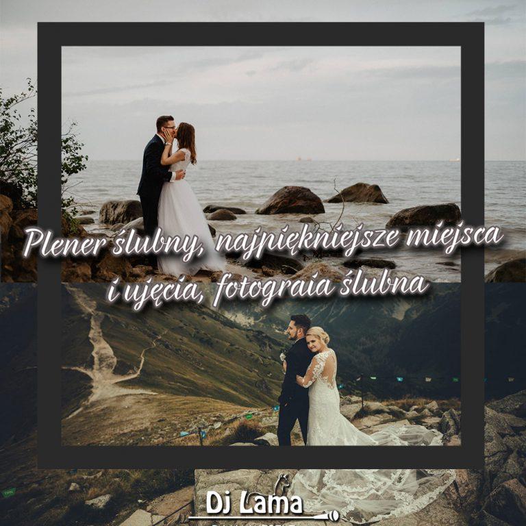 Plener ślubny, najpiękniejsze miejsca i ujęcia, fotografia ślubna