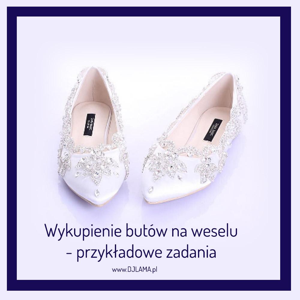 Wykupienie butów na weselu - przykładowe zadania